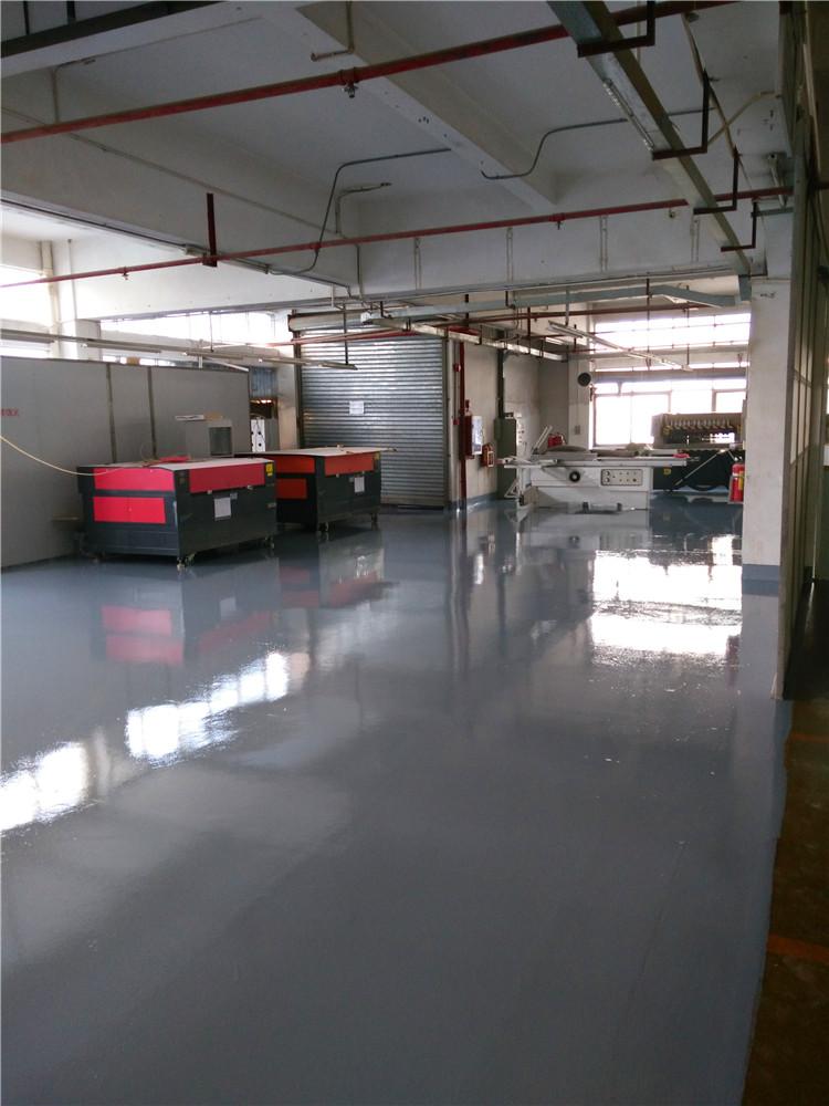 环氧树脂砂浆防静电薄涂地板