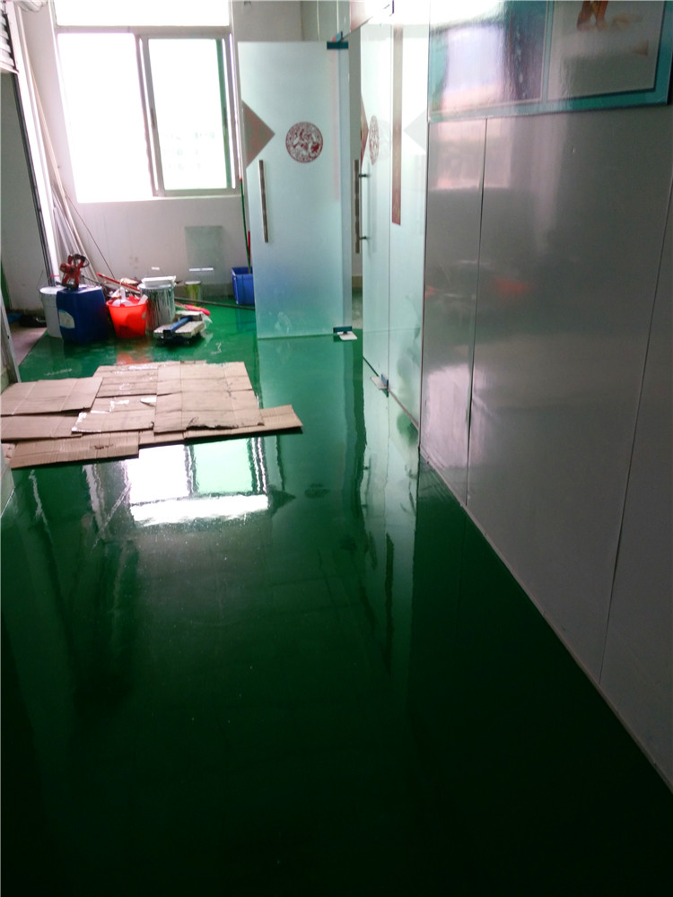 环氧树脂自流平防静电地板